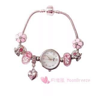 潘朵拉琉璃珠手表