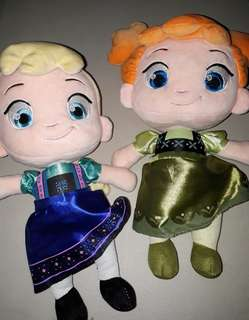 Li'l Elsa & Anna Stuffed Doll