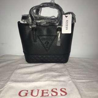Original guess mini full black bag