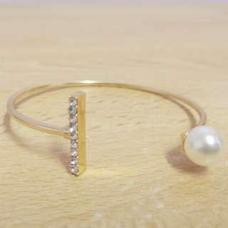 (BNIP) Women's beaded bracelet ( adjustable)