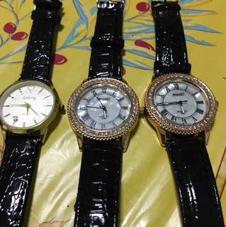 Watches for sales!! $6 each!!