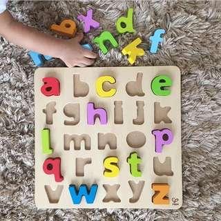 Hape Lower Alphabet Puzzle