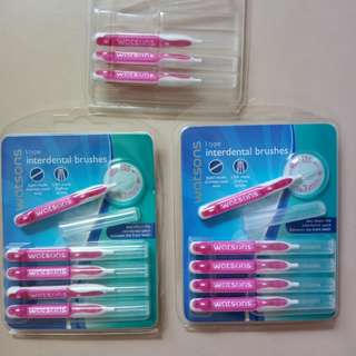 Interdental toothbrushes