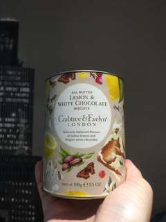 Crabtree Evelyn biscuits