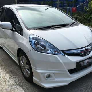 HONDA JAZZ HYBRID 1.5(A)THN 2014、CAR KING‼️