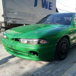 Galant 95 vr4 new paint