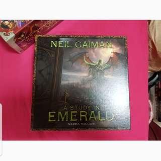 A Study In Emerald Board Game
