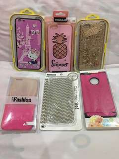 Iphone 6/6s plus casing ( take all 6 for 500 )