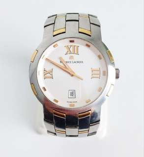 Maurice Lacroix Milestone Stainless 18k Gold