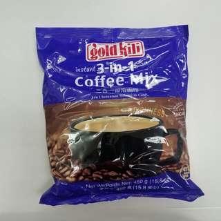 星加坡Goldkili 特濃少甜咖啡