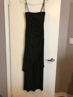 Black dressy pant jumpsuit