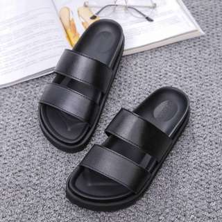 Korean hipster black sandals