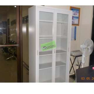 5 layer glass cabinet - office furniture - partition