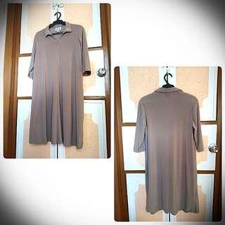 Saga Classy Maternity Dress (Long)