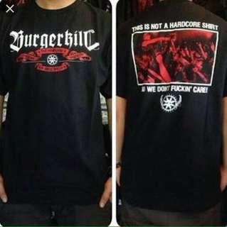 T-shirt BURGERKILL ori/Baru