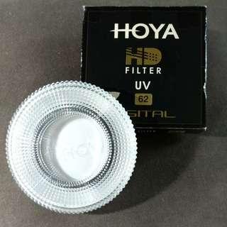 HOYA HD 62mm UV filter