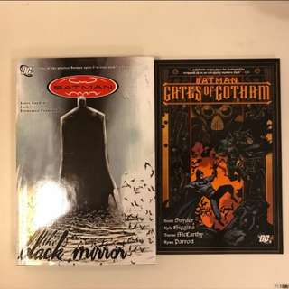 Batman The Black Mirror (hardcover) & Gates of Gotham (TPB)