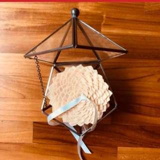 Rental wedding ring pillow for solemnisation
