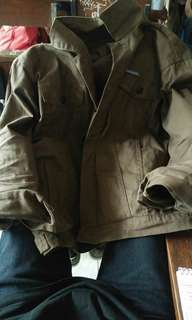 Roughneck brown peanut canvas jacket