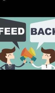 Feedback Exchange