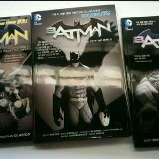 The New 52: Batman Detective Comics Vol 1,2,3