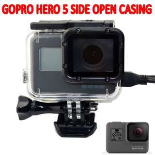 TGP042 GoPro Hero 5 Skeleton Housing Case Side Open Protective Cover