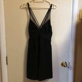 Mango Little Black Dress