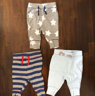 Selling baby cat & jack 0-3 months pants from US