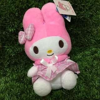 [小型] 粉紅洋裝美樂蒂絨毛娃娃 #三麗鷗授權#hello kitty#Melody