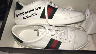 Authentic Gucci shoes size 37 worn once