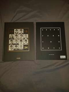 RARE SEVENTEEN Official 24 Hours Photobook + The Boys Postcard Book