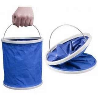 collapsible pail (blue) 5L