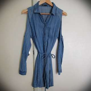 Sass denim dress