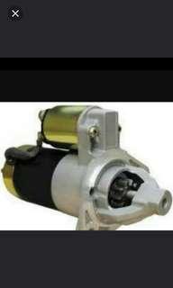 Car starter motor