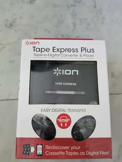 ion tape express plus tape-to-digital converter & player