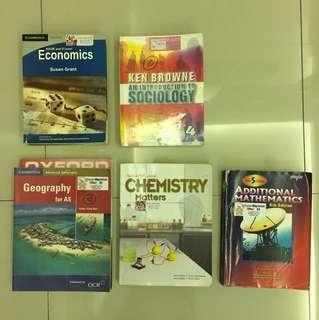 Paket Textbook Cambridge kelas 1 sma/ 10