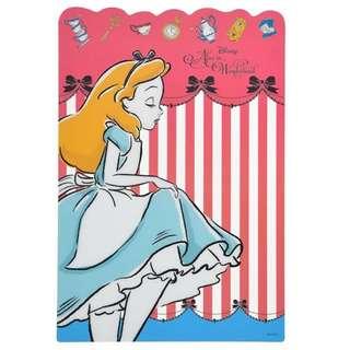 ♥️減價中! 🇯🇵日本代購 迪士尼 Alice 愛麗斯 墊紙板 餐墊