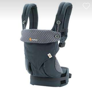 Original Ergobaby 360 Dusty Blue