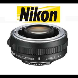 Nikon AF-S Teleconverter TC-14 lll