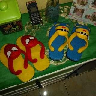 2 pasang Sandal anak lucu