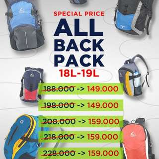 All daypack Torch 18-19