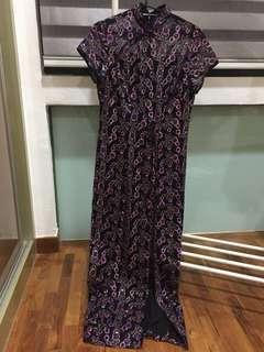Designer-made party dress / cheongsam