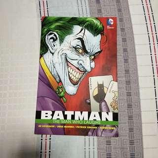 Batman Detective Comics The Man Who Laughs (TPB)