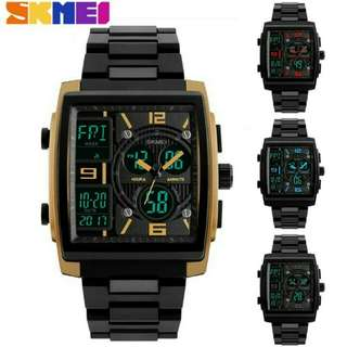 Jam Tangan Pria SKMEI 1274 LED Digital Waterproof