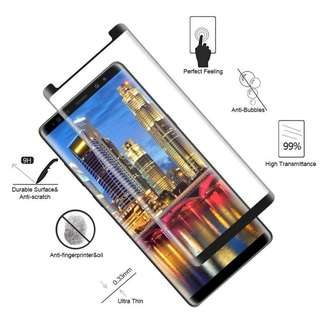 Samsung S9/S9 Plus Curved Tempered Glass Case Friendly
