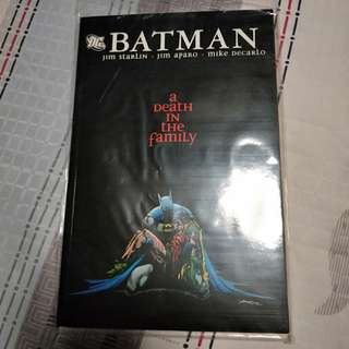 Batman Detective Comics A Death in the Family (TPB)