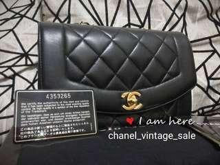 現貨Chanel diana full set 98新
