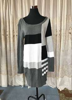 H&M knitted pull over dress