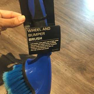 Wheel and bumper brush for sale