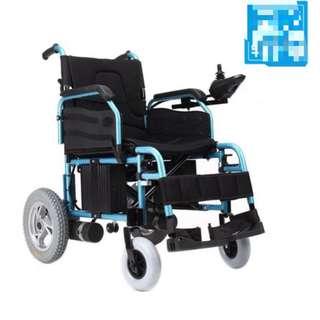 LC 08 可摺式電動輪椅 二手整體新淨